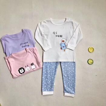 广州品牌童装家居服批发棒棒糖服装商行