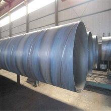 河北睿达Q235B螺旋钢管定尺价格图片