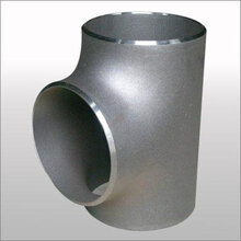 不锈钢等径三通热压三通实体厂家图片