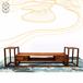 湖北武汉本地红木实木家具香港二木新中式家具客厅电视柜三件套亚花梨