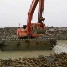 玉林水上挖掘机租赁租赁报价图片
