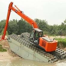 汉中水上挖掘机租赁出租联系方式图片