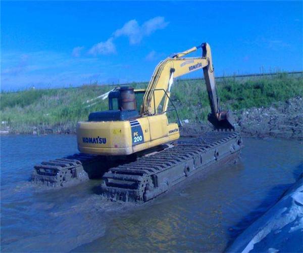 福清水上挖掘机租赁租赁公司