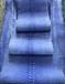 專業批發真蟒蛇皮服裝級磨砂牛仔水洗-背開藍色