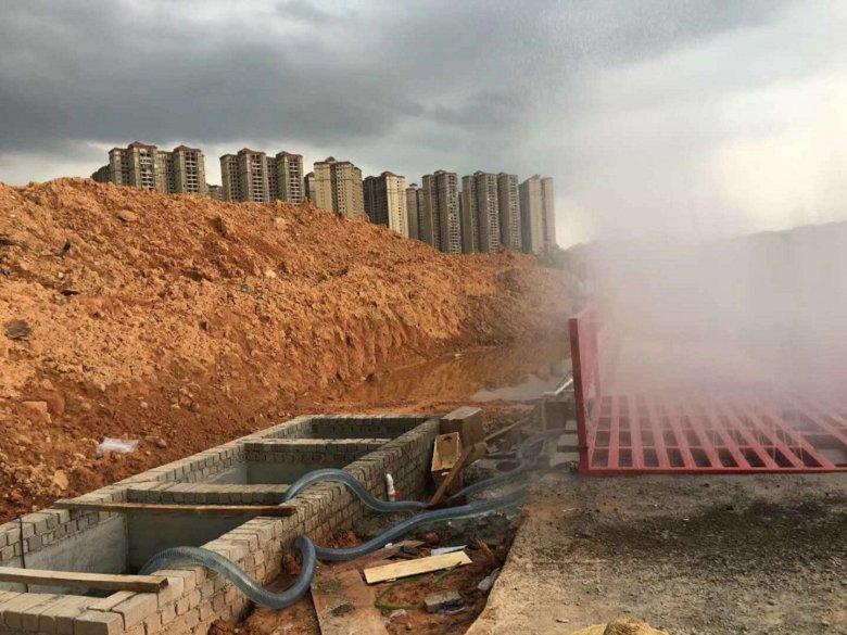 东莞喷淋洗车机供应商节能环保更方便