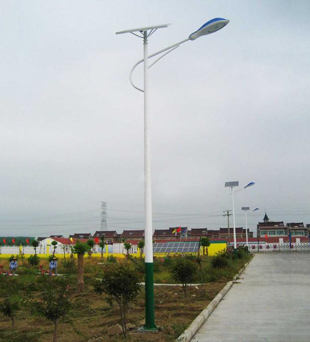 厂家直销敦化锂电一体化太阳能路灯庭院灯路灯