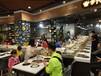 来图樵森家具定制生产旋转火锅餐桌回转火锅餐桌自助小火锅餐桌