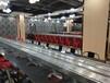 新型回转式涮烤锅旋转小火锅自动传送火锅设备佛山厂家供应