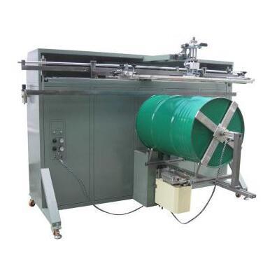 厦门市铁桶丝印机北海市包装桶多色丝印机梧州市塑料花盆丝印机