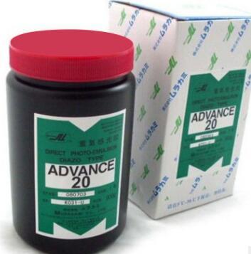 日本村上AD20感光胶重氮感光浆分辨力高特别适合晒制精细图文
