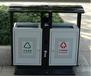 半自動定制塑料鐵UV小型生產線全自動垃圾箱絲網印刷環保絲印