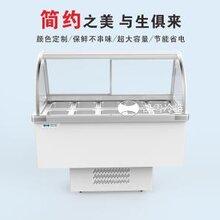 凯雪冰粥柜KX-1.0ZD冰粥展示柜鸭脖凉菜保鲜柜图片