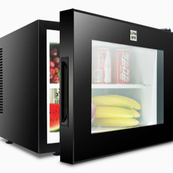 綠零小冰箱LBC-20AA客房小冰箱20L玻璃門小冰箱酒店小冰箱租房宿舍小冰箱
