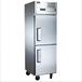 君諾二門冷藏冰箱LF050C2商用上下門冷藏柜不銹鋼廚房冷柜