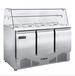 君諾大二門冷凍展示柜JN-D1.2L2FTB商用二門展示冰箱二玻璃門冰箱冷凍食品展示冰箱