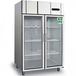 冰立方二門展示冰箱AS1.0G2商用二門冷藏柜雙玻璃門冷藏展示柜
