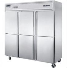 君诺六门双温冰箱JN-DG1.6L6FB立式六门冷冻冷藏柜六门风冷无霜冰箱图片