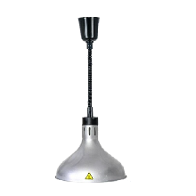 LIZE伸縮式保溫燈LZ-290銀色單頭懸掛式暖食燈自助餐升降式保溫燈圖片