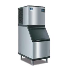 万利多商用制冰机SD0302A+储冰桶方块冰制冰机酒吧大型制冰机方冰机图片