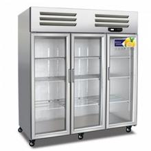 美厨商用风冷冷藏展示柜AES1.6G3大三门风冷保鲜陈列柜美厨商?#36152;?#25151;冰箱图片