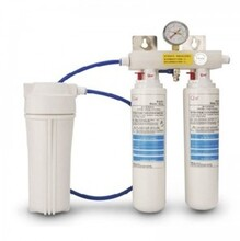 Q諾商用凈水器CEEDB401??穗p頭凈水器直冷水凈水機圖片