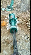 丹寨石材开采静态液压劈裂机设备专业制造