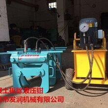 湖南郴州矿山开采石头太硬用液压劈裂机开石千吨