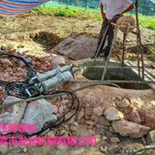 清镇大型岩石静态手提式劈裂机不易损坏