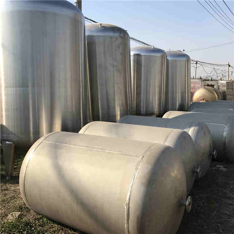 吕梁五十吨不锈钢储罐现货处理