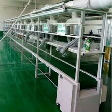 廠家設計定制工廠流水線設備電子電器組裝線皮帶拉線包裝生產線圖片