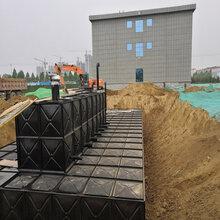 装配式箱泵一体化消防水池图片