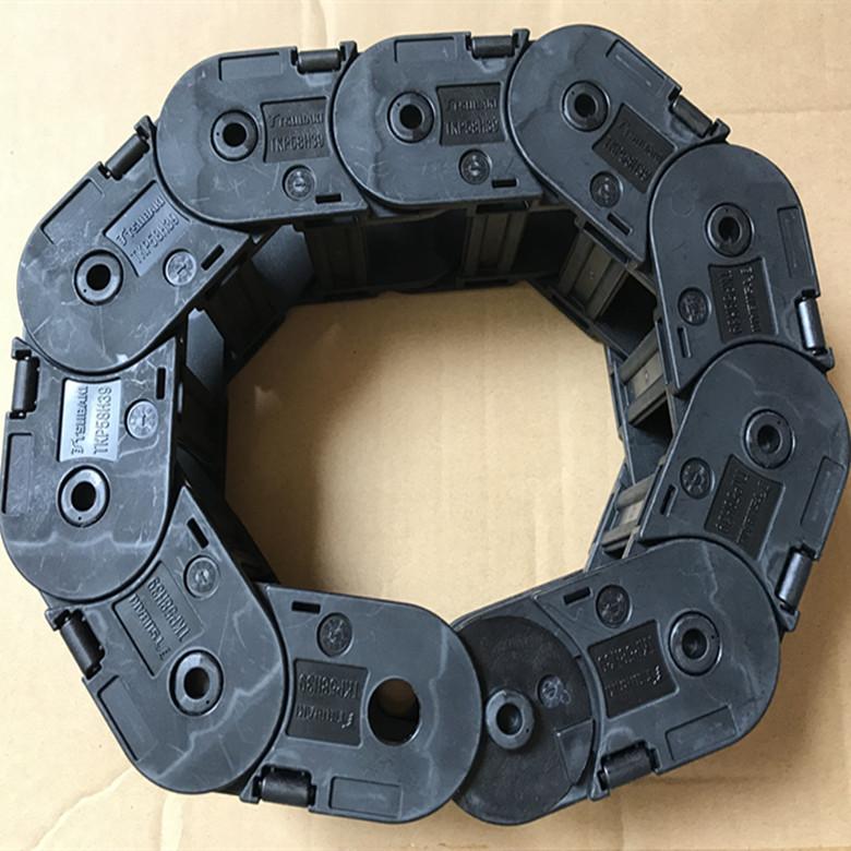 TSUBAKI电缆拖链TKP58H39-30W50R75椿本塑料拖链机床附件