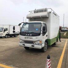 辽宁省江淮康铃蓝牌移动餐车多少钱