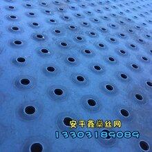 圆孔防滑板圆孔凸起板鱼眼冲孔板