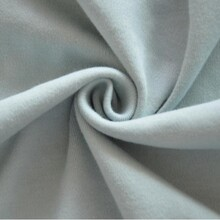 潍坊40s有机棉竹纤维针织面料有机棉针织布内衣袜子服装面料图片