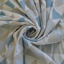 潍坊40S有机棉印花汗布纯棉柔软舒适透气针织面料图片