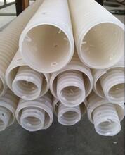阜阳废水收集PE打孔渗滤管生产厂家图片