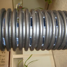 张掖污水收集PE打孔渗滤管供应行情图片