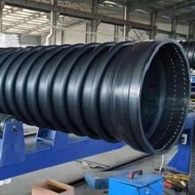 供应:枣庄非开挖工程HDPE双壁波纹管厂家图片
