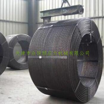 天津厂家批发预应力钢绞线矿用锚具KM22-1860锚索45#碳钢规格