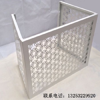 室外空调机罩铝合金机罩百叶式机罩外墙挂机机罩
