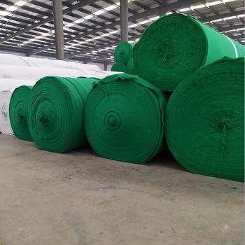 荥阳哪里有卖绿色土工布人造草坪防尘土网