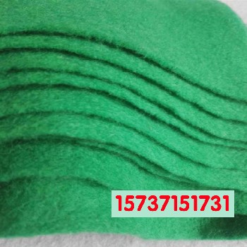 土工布绿色无纺布工地盖土绿化铺地盖土布厂家直销大量现货
