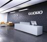 公司接待台设计制作,形象墙背景墙LOGO墙设计制作图片