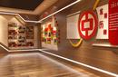 西北政企文化展厅空间设计制作,规划馆,文史馆设计施工图片