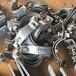 煙臺滑動支架管卡HD2-b型管卡DN65滑動支座管卡