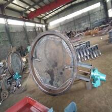 DN300電動圓風門,佰譽管道配套反法蘭電動圓風門,電動執行器風門