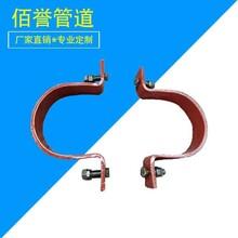 銅川雙螺栓管夾,佰譽牌不銹鋼管夾,A5-1型雙螺栓管夾圖片