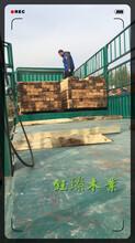 东北花旗松木方木材板材方木加工厂家图片