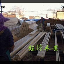 盤錦市楊木木方木材板材方木加工圖片
